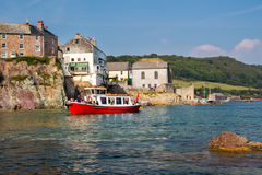 Cawsand Cornwall Royalty-vrije Stock Foto's