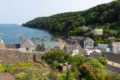 Cawsand Cornwall England United Kingdom. View of Cawsand village Cornwall England United Kingdom on the Rame Peninsula overlooking Plymouth Sound Royalty Free Stock Photography
