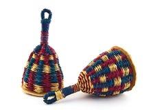 Caxixi, afro-Braziliaans slaginstrument Royalty-vrije Stock Foto's