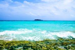 Cay Джонни - San Andres - Колумбия Стоковое фото RF
