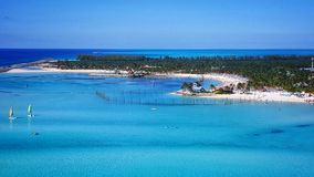 Cay Castaway Стоковое Изображение