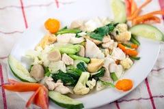 Cay della protezione (alimento asiatico/alimento cinese) Immagini Stock