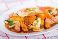 Cay do tampão (alimento chinês) Fotos de Stock