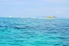 Cay roatan do pombo do extremo Oriental fotografia de stock royalty free