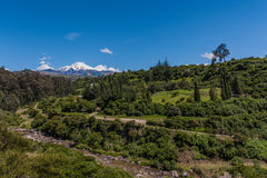 Cayambe wulkan Zdjęcie Royalty Free