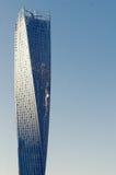 Cayan Tower à la marina de Dubaï à Dubaï, Photos stock