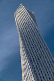 Cayan Tower in de Jachthaven van Doubai Royalty-vrije Stock Afbeelding