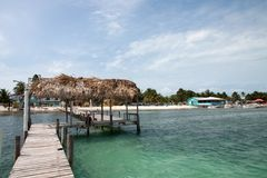 Caye Caulker, Belize Stock Images