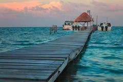 Caye Caulker Belize Royaltyfri Bild