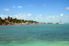 Caye Caulker, Belize, Central America Royalty Free Stock Images