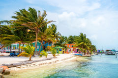 Caye Caulker Colors Stock Photos