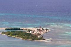 Caye da casa clara, Belize Fotografia de Stock