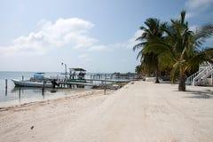 Caye-Kalfaterer, Belize Lizenzfreies Stockbild