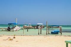 Caye-Kalfaterer, Belize, Mittelamerika Lizenzfreies Stockfoto