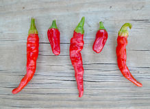 Free Cayenne And Chili Pequin Peppers Royalty Free Stock Images - 77814979