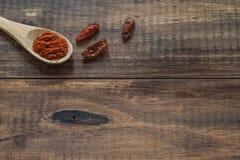 Cayenne et paprika photo libre de droits