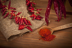 Cayenne Pepper Stock Image