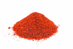 Cayenne pepper flakes Stock Images
