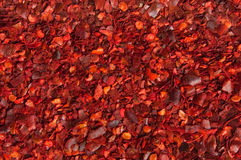 Cayenne Pepper flakes Royalty Free Stock Photos