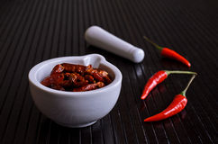 Cayenne pepper Royalty Free Stock Photos