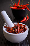 Cayenne pepper Royalty Free Stock Images