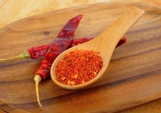 Cayenne pepper Stock Images
