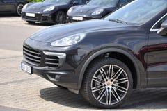 Cayenne Porsche Στοκ Φωτογραφία