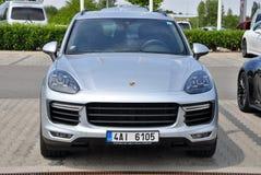 Cayenne Porsche Στοκ φωτογραφίες με δικαίωμα ελεύθερης χρήσης