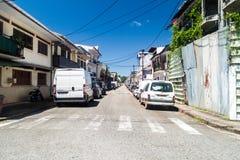 Cayennepfeffer, Hauptstadt von Französisch-Guayana lizenzfreies stockbild