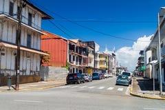 Cayennepfeffer, Hauptstadt von Französisch-Guayana lizenzfreie stockbilder