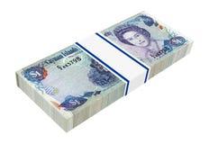 Cayman Islands money isolated on white background. Stock Images