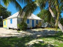 Cayman- Islandshäuschen-Haus Lizenzfreies Stockfoto