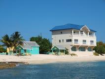 Cayman- IslandsStrandgrundstück Lizenzfreie Stockbilder