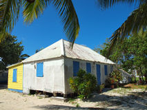 Cayman- Islandstraditionelles Haus Stockbild