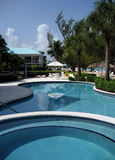 Cayman Pool Stock Photo