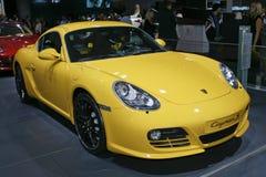 η cayman Porsche s Στοκ εικόνα με δικαίωμα ελεύθερης χρήσης