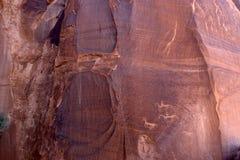 Caynon de Chelly, monument national Images libres de droits