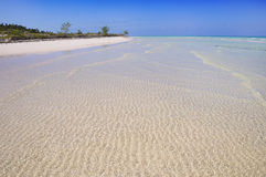 Cayo coco beach Stock Photo