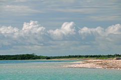 Cayo Coco beach, Cuba Royalty Free Stock Images
