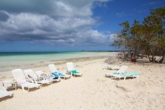 Cayo Coco, Cuba Royalty Free Stock Photography
