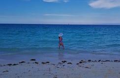 Cayo Coco, Cuba - overweldigende oceaanmeningen royalty-vrije stock foto's