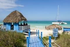 Cayo Guillermo beach, Cuba Royalty Free Stock Photography