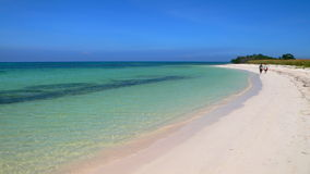 Cayo Jutias Beach in Cuba. Royalty Free Stock Photography