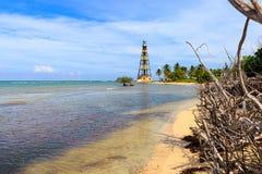 Cayo Jutias en el del noroeste de Cuba Imagen de archivo libre de regalías