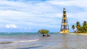Cayo Jutias nel nordoccidentale di Cuba Immagine Stock