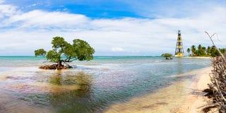 Cayo Jutias w północno-zachodni Kuba Fotografia Royalty Free