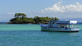 Cayo levantado island Royalty Free Stock Images