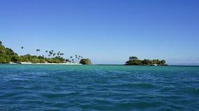 Cayo levantado island Royalty Free Stock Image
