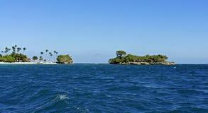 Cayo levantado island Royalty Free Stock Photo