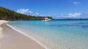 Cayo Luis Peña, Culebra P.R. Beautiful beach Culebra Royalty Free Stock Photography